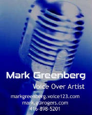 Mark Greenberg Voice Over Artist